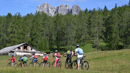 Mountain Bike sulle Dolomiti